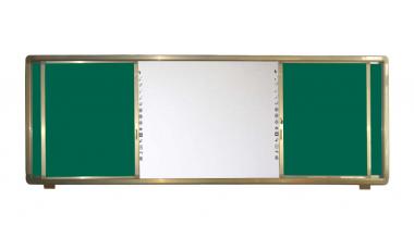 金属磁性推拉黑板